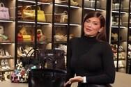 Η Kylie Jenner δείχνει τι έχει μέσα στην τσάντα της ως νέα μαμά! (video)