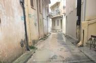 Πάτρα: Τα στενάκια γύρω από το Κάστρο, δεν χρειάζονταν τον Ιανό για να γίνουν