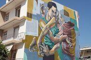 Το 5o mural του Διεθνούς Street Art Festival της Πάτρας ολοκληρώθηκε! (φωτο)