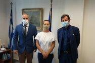 Ο Επίτιμος Πρόξενος της Ρωσικής Ομοσπονδίας στην Πελοπόννησο Μιχαήλ Τσιλικίδης επισκέφθηκε τον ΟΛΠΑ (φωτο)