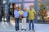 Ο Δήμαρχος Πατρέων Κώστας Πελετίδης συνεχάρη τον Προμηθέα για την κατάκτηση του Super Cup (φωτο)