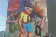 Πάτρα: Ο Καραγκιόζης ετοιμάζεται να «πάει σχολείο» - Το νέο mural του KLE