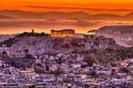 Η επική φωτογραφία της Ακρόπολης την ώρα του ηλιοβασιλέματος