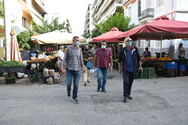 Πάτρα: Λαϊκές αγορές με απόσταση 5 μέτρων ανά πάγκο (φωτο)