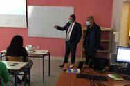 Πάτρα: Η 6η ΥΠΕ και τα Κέντρα Υγείας ενημερώνουν τους μαθητές για τη Covid -19