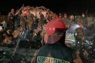 Αζερμπαϊτζάν - Τουλάχιστον 12 νεκροί από χτύπημα πυραύλου σε κατοικημένη περιοχή (φωτο)