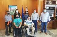 Π.ΟΜ.Α.μεΑ Δ.Ε. & Ν.Ι.Ν.: Συναντήσεις με Δήμαρχο Πύργου και Αρχαίας Ολυμπίας