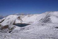 Έπεσαν τα πρώτα χιόνια σε Γράμμο - Λίμνη Γκιστόβα (φωτο)