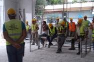 Παρέμβαση του Συνδικάτου Οικοδόμων Πάτρας στον χώρο που έγινε το εργατικό ατύχημα (φωτο)