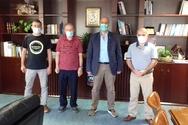 Πάτρα: H «Εθελοντική Ομάδα Φίλων Δροσιάς» συναντήθηκε με τον Χαράλαμπο Μπονάνο