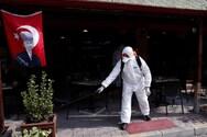 Εκτόξευση των κρουσμάτων κορωνοϊού στην Τουρκία