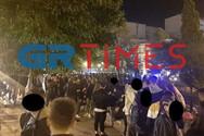 Εικόνες ακραίου συνωστισμού στο κέντρο της Θεσσαλονίκης (video)