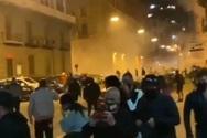 Επεισόδια για την απαγόρευση κυκλοφορίας στη Νάπολη
