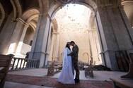 Ναγκόρνο Καραμπάχ - Γάμος μέσα στο βομβαρδισμένο ναό του Σουσί (φωτο)