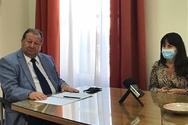 Ο Δήμαρχος Αιγιάλειας, Δημήτρης Καλογερόπουλος, εφ΄ όλης της ύλης