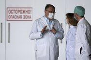Ρωσία - Κορωνοϊός: Νέο ρεκόρ με πάνω από 17.000 καθημερινά κρούσματα