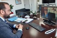 Ο Νεκτάριος Φαρμάκης ενημερώθηκε για την δραστηριότητα του Πανεπιστημίου Πελοποννήσου