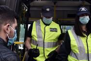 Εντατικοί έλεγχοι της ΕΛ.ΑΣ. για μη χρήση μάσκας: 32 πρόστιμα στη Δυτική Ελλάδα