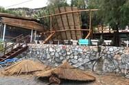 Εικόνες καταστροφής στη Σούγια των Χανίων από την κακοκαιρία (φωτο)