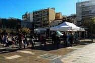Πάτρα - Κορωνοϊός: Πρώτο θετικό rapid τεστ στην πλατεία Γεωργίου