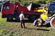 Δήμος Δυτικής Αχαΐας: Συνεχείς εργασίες στο αγροτικό οδικό δίκτυο