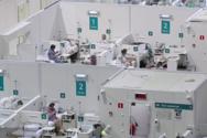 Ρωσία: Η Μόσχα μετατρέπει παγοδρόμιο σε νοσοκομείο