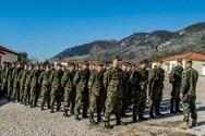 Στρατός: 1.600 θέσεις για επαγγελματίες οπλίτες στις Ένοπλες Δυνάμεις