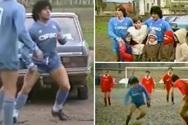 Ντιέγκο Μαραντόνα: Όταν έπαιζε σε γήπεδο-βούρκο για ένα άρρωστο παιδί (video)