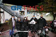 Θεσσαλονίκη: Προσφέρουν φαγητό κάθε βράδυ στους ήρωες υγειονομικούς