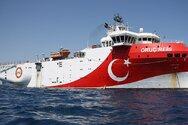 Oruc Reis: Βάζει πλώρη για Τουρκία