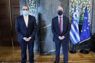 Συνάντηση του Προέδρου της Βουλής των Ελλήνων με τον Πρέσβη του Εμιράτου του Κατάρ στην Αθήνα
