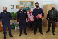 ΟΛΠΑ: Δωρεά προστατευτικών κράνων σε Υπηρεσίες της Διεύθυνσης Αστυνομίας Αχαΐας
