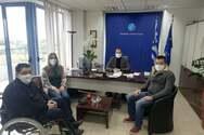 «Π.ΟΜ.Α.μεΑ Δ.Ε & Ν.Ι.Ν.: Επίσκεψη στην Περιφέρεια Δυτικής Ελλάδας