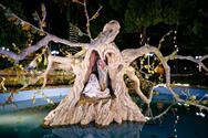 Στολίστηκε το Πάρκο των Χριστουγέννων στο Αίγιο (φωτο)