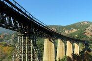 Η εντυπωσιακή γέφυρα του Γοργοποτάμου από ψηλά (video)