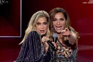 J2US - Η Άννα Βίσση και η Δέσποινα Βανδή πίσω από τις κάμερες (video)