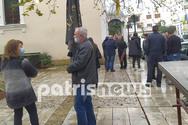 Ηλεία - Σε βαρύ κλίμα η κηδεία του Χρήστου Βασιλόπουλου