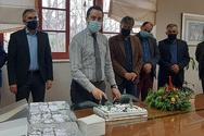 Αχαΐα: Κοπή πίτας στο Δήμο Ερυμάνθου (φωτο)