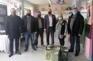 Δυτ. Ελλάδα: Ελαιόλαδο σε κοινωνικές δομές της Περιφέρειας διέθεσε ο Σύλλογος Ελαιοπαραγωγών Αιτωλικού