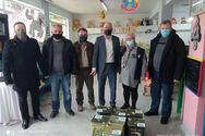 Πάτρα: Aντιπροσωπεία του Αγροτικού Συλλόγου Ελαιοπαραγωγών Αιτωλικού επισκέφθηκε το