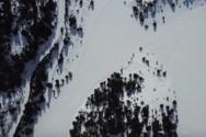 Κορινθία - Η παγωμένη λίμνη Δασίου άνωθεν (video)