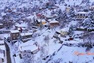Αχαΐα - Μια λευκή... πανδαισία η χιονισμένη Πτέρη (video)