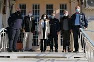 Επίσκεψη Φωκίωνα Ζαΐμη και Αμαλίας Βούλγαρη στo Σωφρονιστικό Κατάστημα Αγίου Στεφάνου Αχαΐας