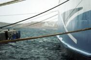 Ζάκυνθος: Δεμένα τα πλοία λόγω των θυελλωδών ανέμων
