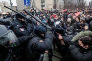 Ρωσία: Περισσότεροι από 3.000 συλλήψεις στις διαδηλώσεις υπέρ του Ναβάλνι