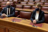 Γραμματέας της Διαρκούς Επιτροπής Μορφωτικών Υποθέσεων της Βουλής η Χριστίνα Αλεξοπούλου