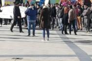 Πορεία φοιτητών και εκπαιδευτικών στο κέντρο της Πάτρας