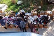 Πάτρα: Κλειστά τα μαγαζιά, ανοικτοί οι πάγκοι στις λαϊκές