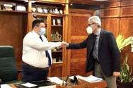 Συνάντηση του Άγγελου Τσιγκρή με τον Αρχηγό της Ελληνικής Αστυνομίας