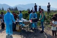 Πάτρα: Τουλάχιστον 10 κρούσματα κορωνοϊού στον καταυλισμό του Ριγανόκαμπου